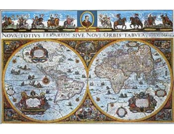 Historický svět - nástěnná mapa