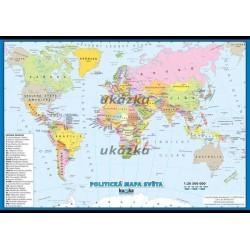 Politická mapa světa - malá